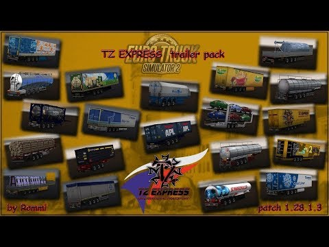 ETS2 TZ Trailers Pack 1.28.x