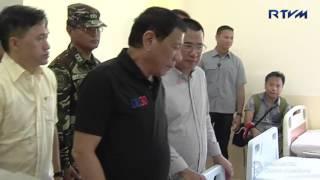 Hilongos District Hospital, Hilongos, Leyte December 30, 2016 President Rodrigo Roa Duterte visited the Hilongos District Hospital in Leyte and provided fina...