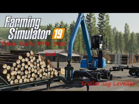 FS19 Log leveller v1.0.0.0