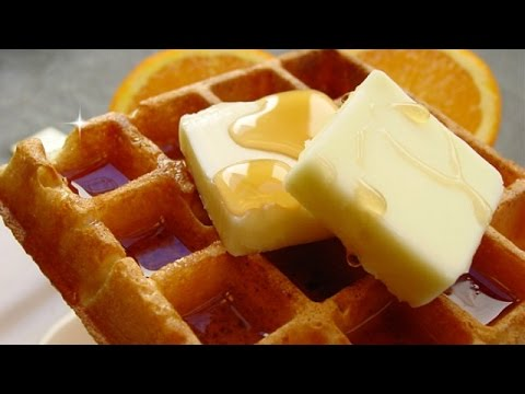 waffels - Quick and Easy Homemade Waffles from scratch are so simple -- there's just one catch. Quick and Easy Waffles Recipe: http://www.averagebetty.com/recipes/quic...