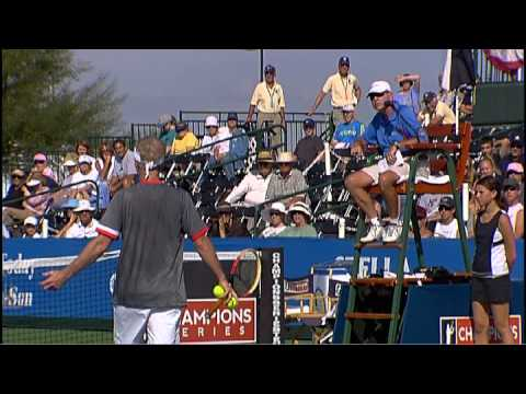 Michael Chang vs John McEnroe – Champions Series Tennis