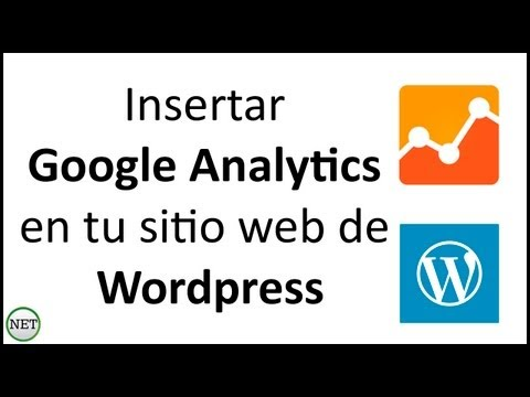 Insertar Google Analytics en tu sitio web de wordpress 2014