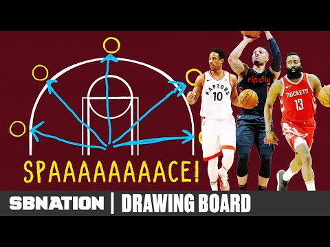 Video: How NBA offenses got impossible to defend | Drawing Board