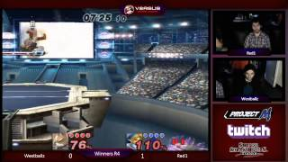 Versus Weekly – Westballz (Fox/Falco) vs Red1 (Link) Winners Bracket