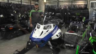 6. 2017 Arctic Cat Bearcat 2000 XT Blue & White