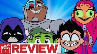 Nonton Teen Titans Go  To The Movies Review Film Subtitle Indonesia Streaming Movie Download