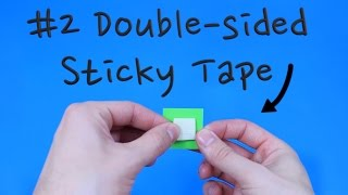 How to make Double-sided Sticky Tape | Pop'n'Olly | Olly Pike