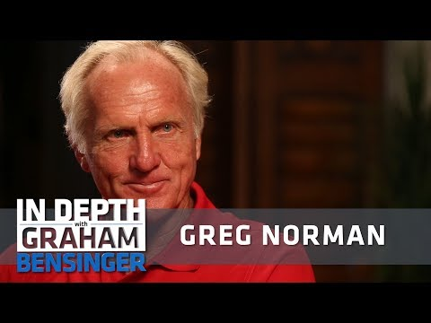 Greg Norman on Tiger Woods: We …