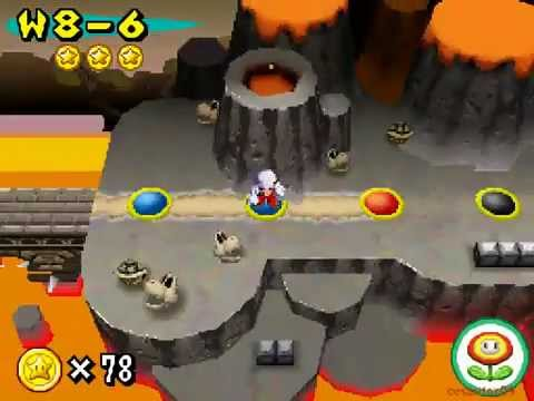 New Super Mario Bros Part 25 World 8-4 8-Castle 1 8-5 8-6 8-7 Walkthrough Nintendo DS gameplay