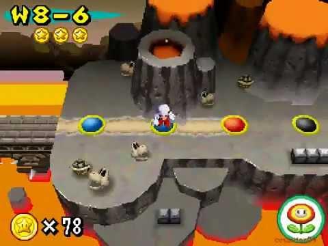 New Super Mario Bros Part 25 World 8-4 8-Castle 1 8-5 8-6 8-7 Walkthrough Nintendo DS gameplay