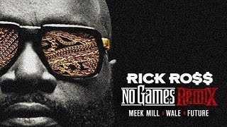 Rick Ross music video No Games (Remix) (feat. Meek Mill, Wale & Future)
