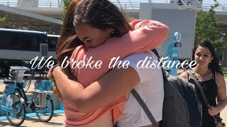 MEETING MY GIRLFRIEND FOR THE FIRST TIME // LGBT LDR