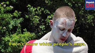 A white man has decided to get initiated in the traditional Xhosa circumcision manner.