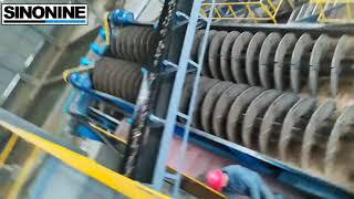 dewatering wheel bucket sand washing machine youtube video
