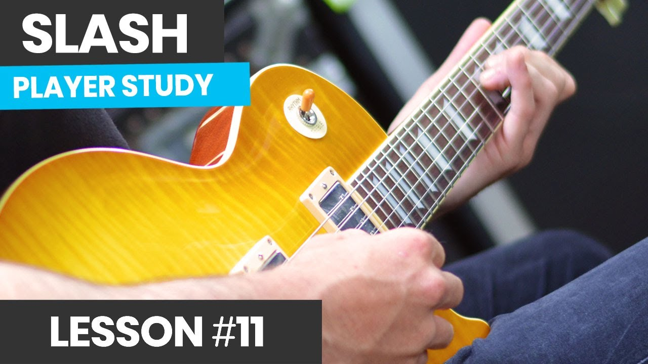 How To Play Like Slash [Slash Course Lesson 11] What Scales Does Slash Use?