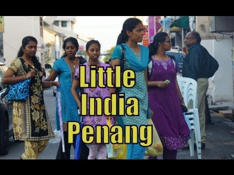 Visiting Little India in George Town, Penang