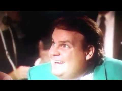 Chris Farley is served decaf instead of regular...