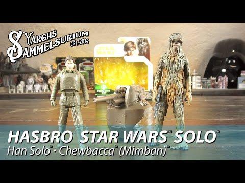 Review HASBRO Star Wars SOLO - Han Solo und Chewbacca Mimban - Unboxing - deutsch