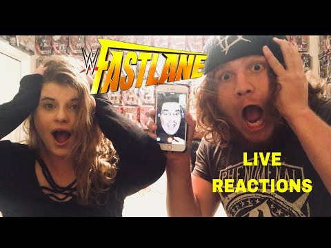 WWE FASTLANE 2018 EPIC LIVE REACTIONS!