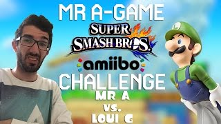 An amiibo battle of the ages, Luigi is the ultimate thug