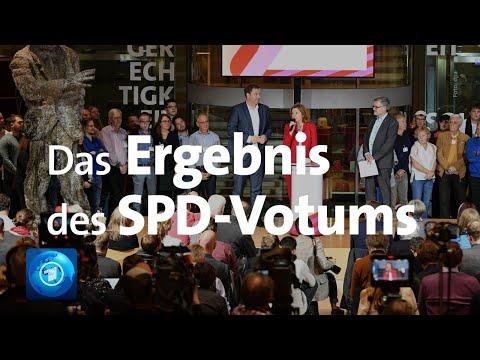 Das Ergebnis des SPD-Mitgliedervotums