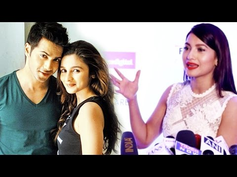 Gauahar Khan Reveals About Her Role In Varun Dhawa