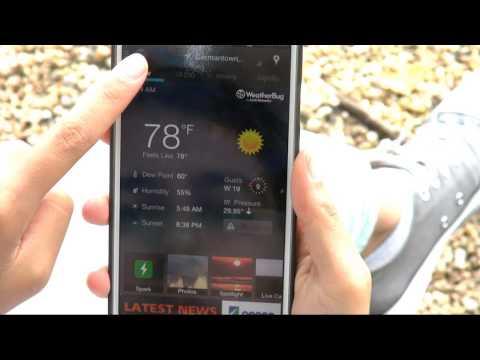 Video of WeatherBug