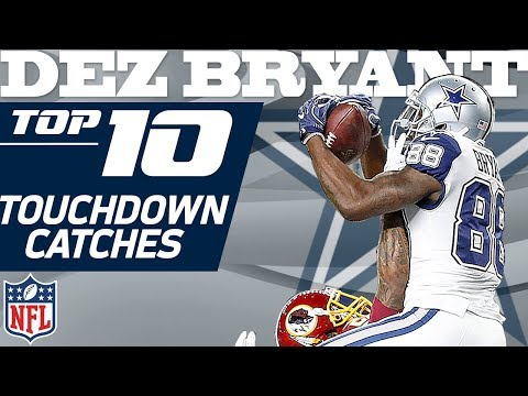 Video: Dez Bryant's Top 10 TD's of His Dallas Cowboys Franchise Record 72 | NFL Highlights