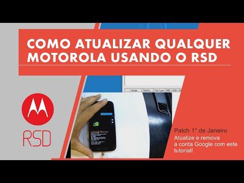 Como Atualizar Qualquer Motorola Usando o RSD
