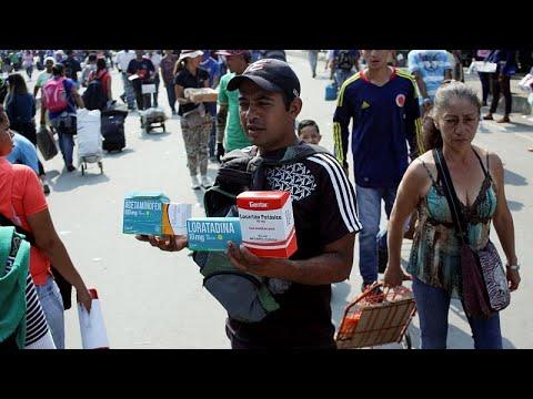 Venezuela: Hilfsgüterverteilung wird zur Bewährungspr ...