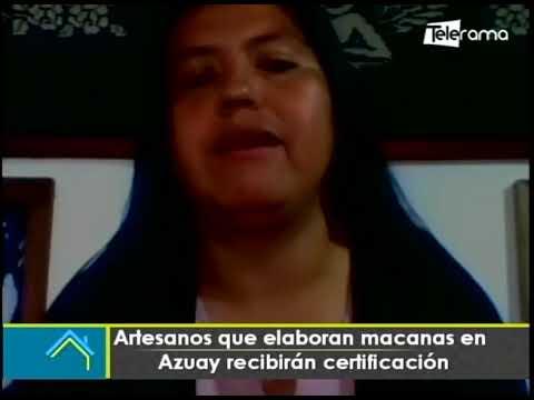 Artesanos que elaboran macanas en Azuay recibirán certificación