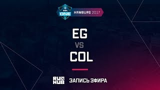 EG vs coL, ESL One Hamburg 2017, game 2 [Lum1Sit, Inmate]