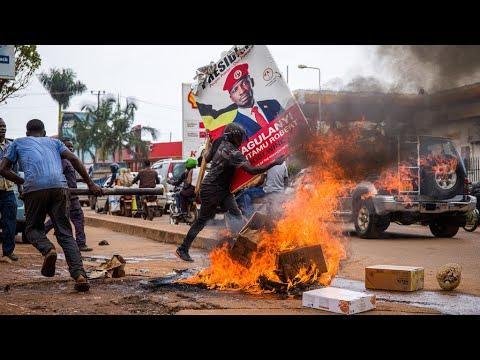 Deadly clashes in Uganda over arrest of Bobi Wine