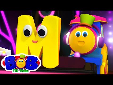 Lernstrassen   Phonics Lied   Buchstaben M   Bob der Zug   Kinderlieder   Kinderreime auf Deutsch