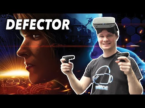 Das MUST-HAVE VR-Action Spiel! - Defector
