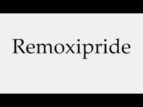 How to Pronounce Remoxipride