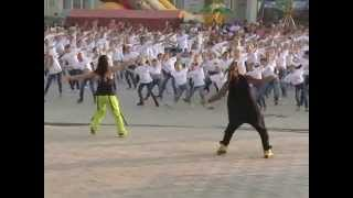Big flashmob in Horodok with Amador Lopez. part 2