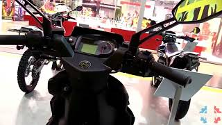 8. 2017 Aprilia SR 50 Racing Walkaround Review | Engine Specifications Details and Colors