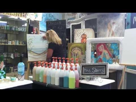Paintin' Place 20 Min Beach Scene
