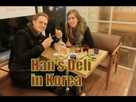 Eating Korean Fusion Food