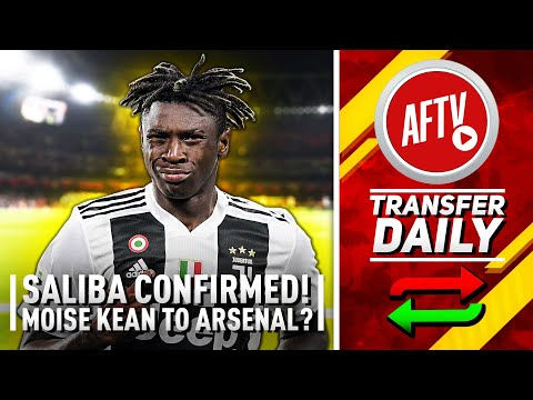 Saliba Confirmed & Arsenal Enquire About Juventus Wonderkid! | AFTV Transfer Daily