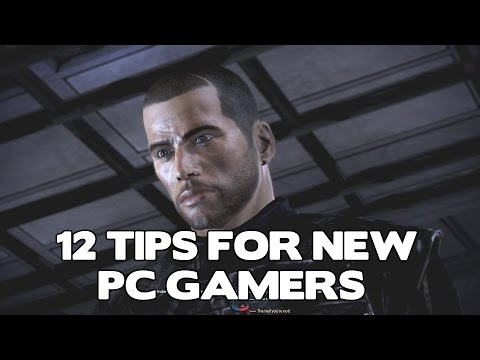 Twelve great tips for new PC gamers