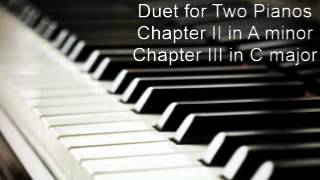 Duet for Two Pianos + Sheet Music