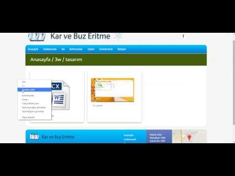 <h2>Web Sayfamıza Resim veya Dosya Eklemek</h2><br><br>