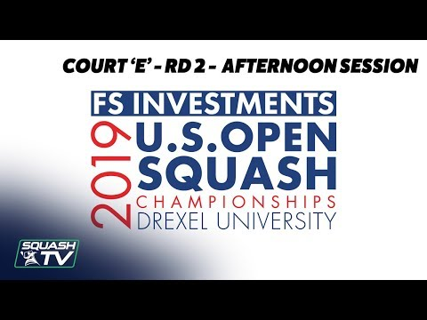 U.S. Open 2019 - Rd 2 Afternoon Session - Racquet Club Court E