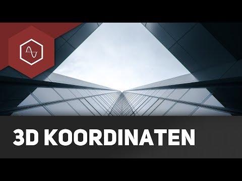 3D-Koordinatensystem erklärt - Grundlagen Vektorgeometrie (Analytische Geometrie)