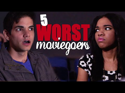 Movies - What's the worst moviegoer YOU'VE ever experienced? Addicted to IG - http://bit.ly/1ptTaiB Derp Vader - http://bit.ly/1Cnecq0 Everyone loves to go to the movies on a hot summer day, so here's...