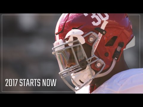 Alabama Crimson Tide 2017 starts now