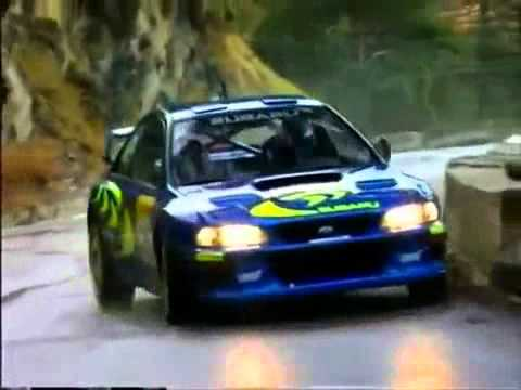 subaru impreza wrc with pure sound