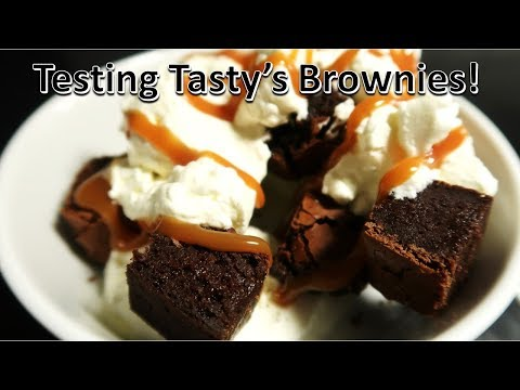 Testing Tasty's 'The Best Brownies You'll Ever Eat'!